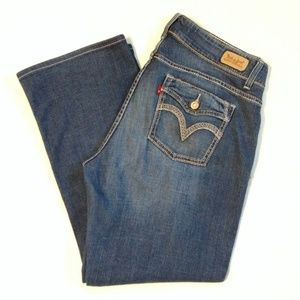 Levi's 529 Curvy Boot Cut Jean Size 16M